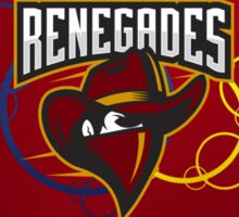Renegades - Red Bubbles Sticker