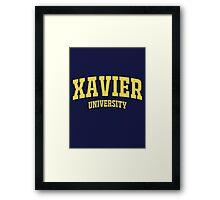 Xavier University School Framed Print