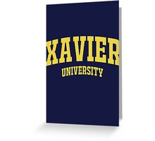 Xavier University School Greeting Card