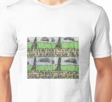 "Drawing: ""City XIII (2013) (Paris)"" by artcollect Unisex T-Shirt"