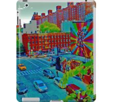 New York Street Scene Art iPad Case/Skin