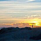 Lights Beach Sunset by pennyswork