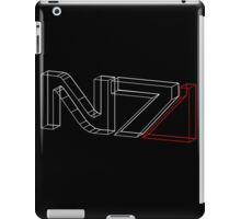 N7 in 3D iPad Case/Skin