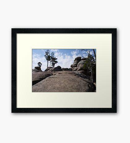 Rock stairway to heaven Framed Print