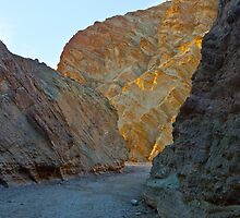 Golden Caynon 1 - Death Valley by Rick Gustafson