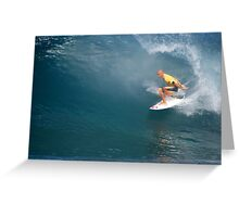 Kelly Slater's Ten Point Ride Greeting Card
