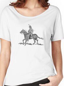 Spirit of the Elders / Big Bulll  Women's Relaxed Fit T-Shirt