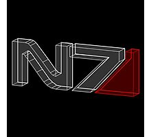 N7 in 3D - 2 Photographic Print