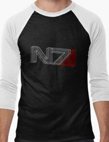 N7 in 3D - 2 Men's Baseball ¾ T-Shirt