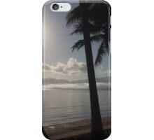 Tropical island fog  iPhone Case/Skin