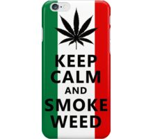 Keep Calm and  Smoke Weed iPhone Case/Skin