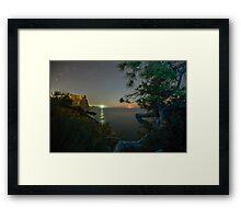 Cumbre Moonrise Framed Print