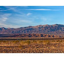 Funeral Mountains - Death Valley by Rick Gustafson