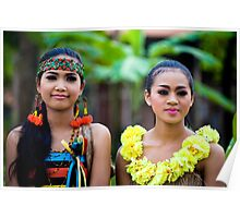 Siem reap culture village - Khmer dance 06 Poster