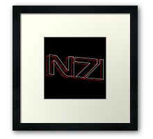 N7 in 3D - 3 Framed Print