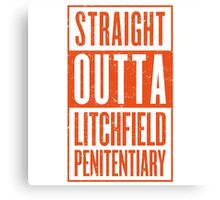 Straight Outta Litchfield Canvas Print