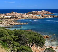 Canal Rocks, South Western Australia by Cindy Ritchie