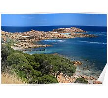 Canal Rocks, South Western Australia Poster