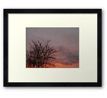 Sunset 4 Framed Print