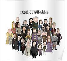 Game of Burgers Poster