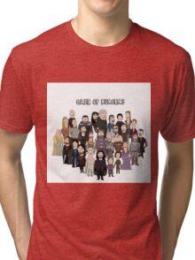Game of Burgers Tri-blend T-Shirt