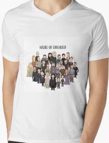 Game of Burgers Mens V-Neck T-Shirt