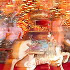 """Carousel Dreams"" - merry go round at Spring Green, WI by John Hartung"