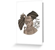 Once Upon A Time - Maleficent Greeting Card