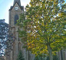 """Sentinel"" - a church in Sheyboygan, Wisconsin by ArtThatSmiles"