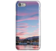 Hobart Docks Sunset iPhone Case/Skin
