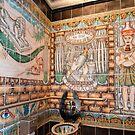 """""""Pharoh's Throne"""" - toilet in Sheyboygan, Wisconsin by ArtThatSmiles"""