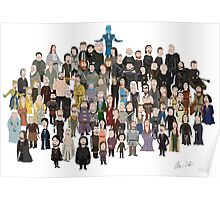 Game of Burgers - All Characters Poster