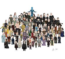 Game of Burgers - All Characters Photographic Print
