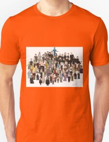 Game of Burgers - All Characters T-Shirt