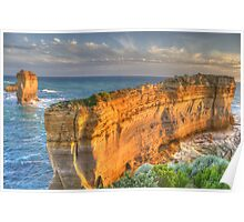 The Razorback #2 - The Great Ocean Road, Victoria Australia - The HDR Experience Poster