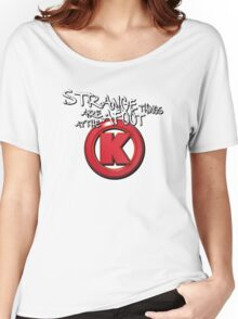 Strange Things Are Afoot At The Circle K Women's Relaxed Fit T-Shirt