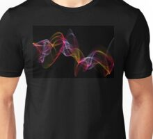 original art abstract colorful waves Unisex T-Shirt