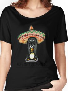 Grumpy Penguin Paco Women's Relaxed Fit T-Shirt