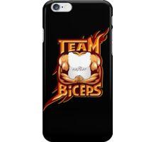 Team Biceps Logo iPhone Case/Skin