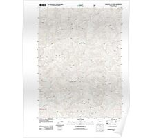 USGS Topo Map Oregon Fourth of July Creek 20110809 TM Poster