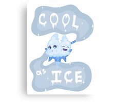 Cool as Ice Canvas Print