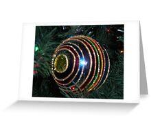 Ornaments and circles Greeting Card