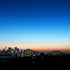 Sydney skyline at dusk by Daniel Pertovt