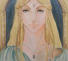 Dama Galadriel by Margherita Bientinesi