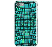 abstract distortion tiled background iPhone Case/Skin