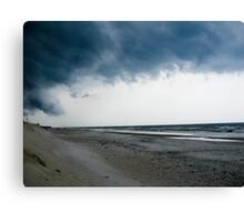 Storm In Canvas Print