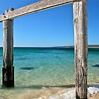 Hamelin Bay Jetty, South Western Australia by Cindy Ritchie