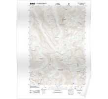 USGS Topo Map Oregon Eagle Cap 20110816 TM Poster
