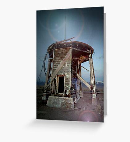 Spirits Of The Water Tower Greeting Card
