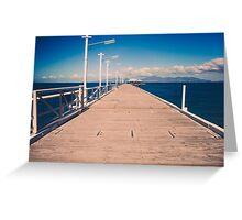Coastal Jetty Greeting Card